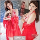 性感睡衣 女性商品 推薦 內睡衣《Yiran Mei》迷情本色!綁脖喇叭袖四件式外罩衫組