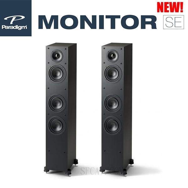 【勝豐群新竹音響】新款 Paradigm  Monitor SE 3000F 落地式揚聲器   黑色