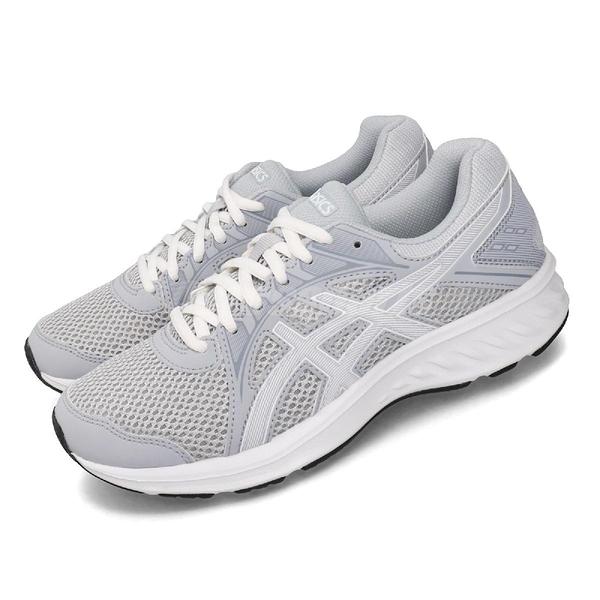 Asics 慢跑鞋 Jolt 2 D 灰 白 女鞋 運動鞋 【ACS】 1012A188021