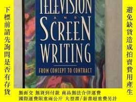 二手書博民逛書店Television罕見and Screen Writing(英