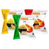 印尼 FINNA 咖哩風味/海苔風味/辣味風味 蝦餅(15g) 款式可選【小三美日】