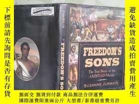 二手書博民逛書店英文原版罕見FREEDOM S SONS 自由之子Y181909