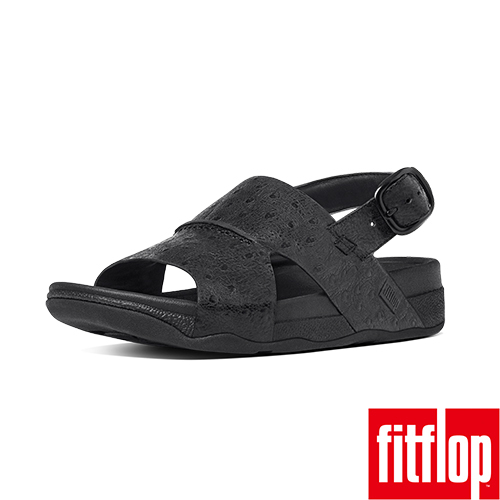 精選5折  FitFlop TM _BANDO TM LEATHER BACK-STRAP-黑色