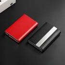 金屬卡夾 真皮名片夾 男式女式商務卡包時尚高檔名片盒金屬卡片盒 傑森型男館