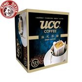 金時代書香咖啡【UCC】法式深焙濾掛式咖啡 8g*12入