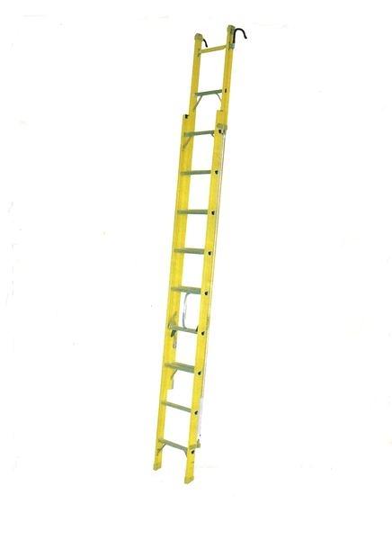 祥江鋁梯-FRP雙節式伸縮拉梯7.6米