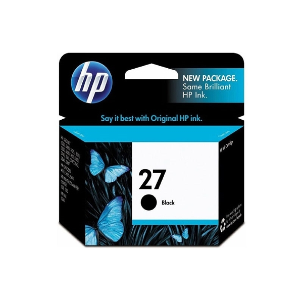 HP NO.27 27 黑色 原廠墨水匣 3323/3325/3420/3425/3535/3550/3650/3745/3845/1315
