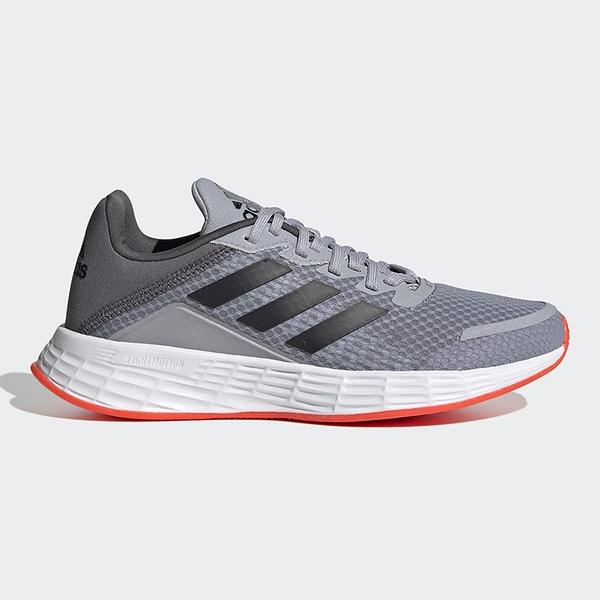 Adidas DURAMO SL 童鞋 大童 休閒 透氣 柔軟 灰【運動世界】FY8891
