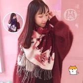 秋冬季保暖百搭日系披肩情侶男女聖誕節禮物【3C玩家】