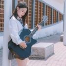 吉他 賓妮吉他初學者女生男木吉它練習琴新手入門自學樂器38寸民謠吉他 夢藝家