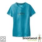【SmartWool 美國 女 Merino Sport 150 好友時光T恤《淡海藍》】SW000722/排汗衣/ 機能衣