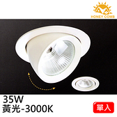 HONEY COMB LED 35W 投崁兩用式崁燈 單入TK2003-3 黃光