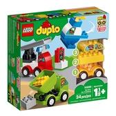LEGO 樂高 Duplo 得寶系列 10886 我的第一套創意汽車組合 【鯊玩具Toy Shark】