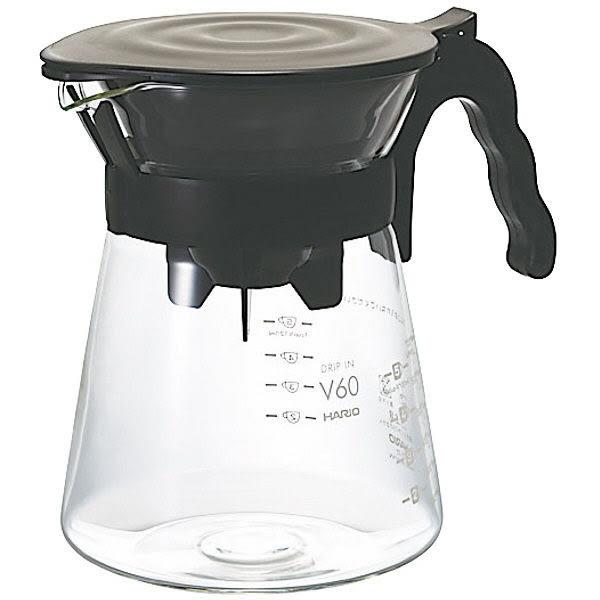 HARIO 日本製 V60手沖咖啡套組 700ML (附40張咖啡濾紙)VDI-02B