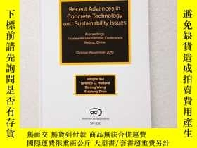 二手書博民逛書店recent罕見advances in concrete tec