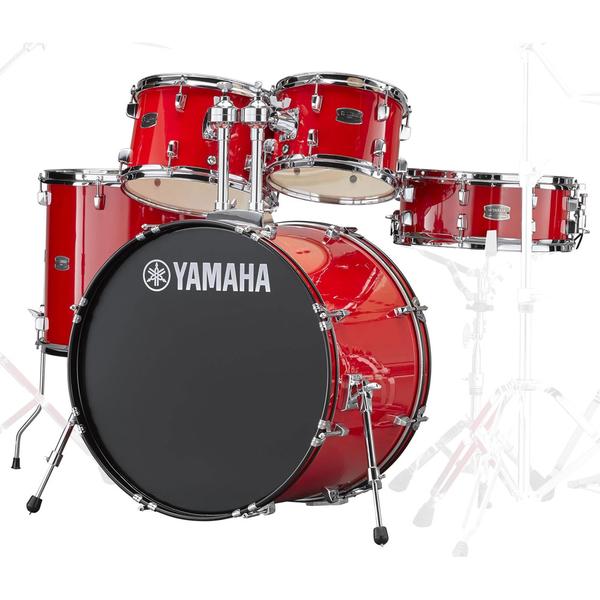 小叮噹的店-全新 YAMAHA RYDEEN 紅色爵士鼓(5件套組) RDP2F5 鼓椅 公司貨
