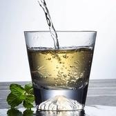 富士山杯日式富士山杯櫻花杯創意威士忌酒杯日本雪山杯家用玻璃冷飲杯【快速出貨八折下殺】