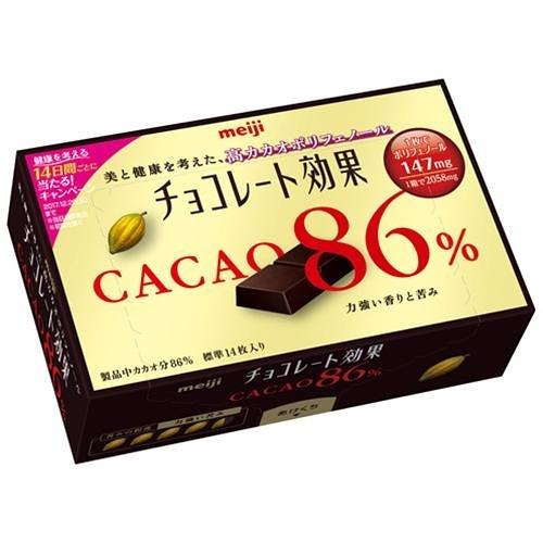 明治86%CACAO可可效果黑巧克力(盒裝) 70g【愛買】