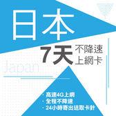 現貨供應 日本 7天 4G不降速 東京 沖繩 神戶 北海道 名古屋 關西 九州 上網 上網卡 網路 網路卡