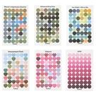 【BlueCat】多色彩圓點愛心裝飾貼紙 封口貼紙