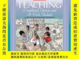 二手書博民逛書店Teaching罕見Exceptional Diverse And At-risk Students In The