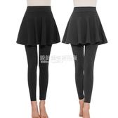 【單 加絨】均重450克加絨加厚冬打底褲女外穿假兩件裙褲連褲裙 設計師生活百貨