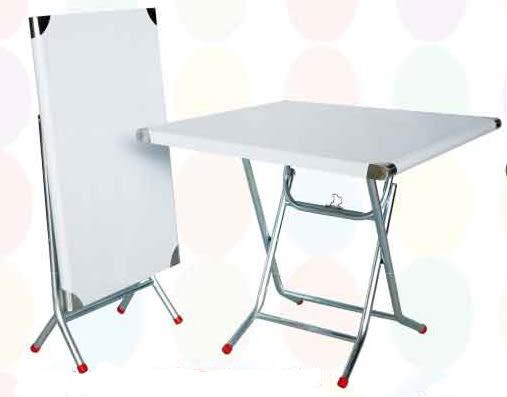 【南洋風休閒傢俱】桌椅桌腳系列 –2x3尺白鐵折桌 休閒桌 洽談桌 餐桌(587-1)