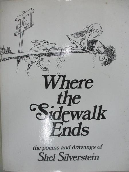 【書寶二手書T1/繪本_EUV】Where the Sidewalk Ends_SILVERSTEIN, SHEL
