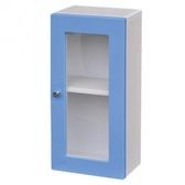 彩漾單門防水吊櫃-藍色