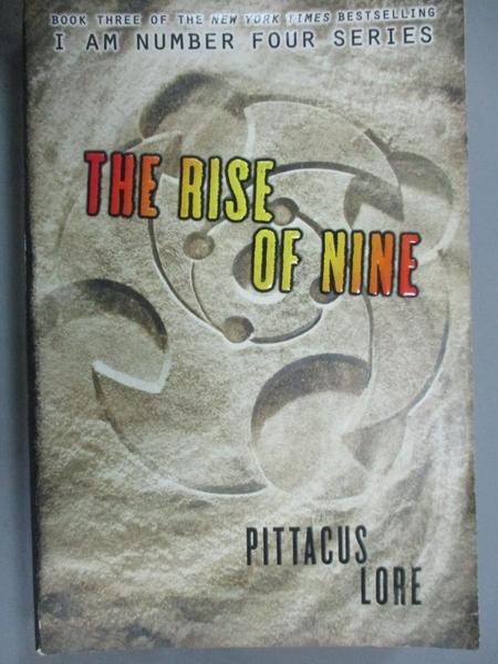 【書寶二手書T4/原文小說_NEV】The Rise of Nine_Pittacus Lore