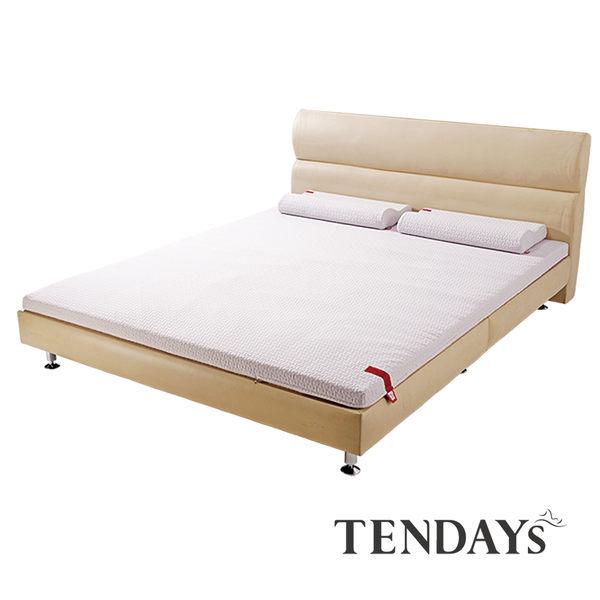 床墊-TENDAYs 5尺6cm厚(標準雙人)-柔織舒壓記憶床墊(減壓記憶棉+高Q彈纖維層)
