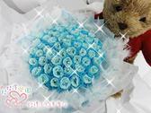 娃娃屋樂園~豪華(羽毛)包裝-60支手工香皂-分享花束 每束2300元/第二次進場/婚禮花束