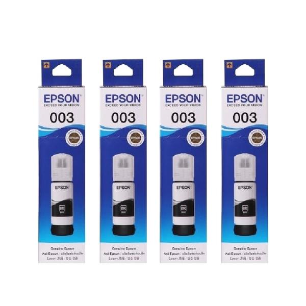 【四黑】EPSON T00V100 T00V 黑色 原廠填充墨水 適用L1110 L3110 L3116 L3150 L5190 L5196