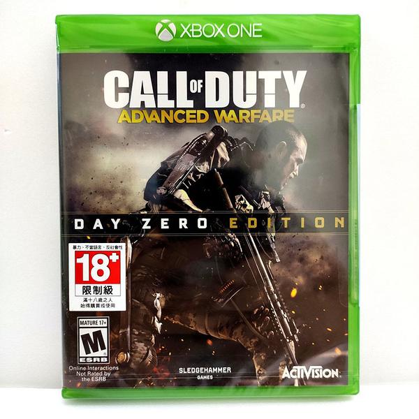 Xbox One COD 決戰時刻 先進戰爭 Day Zero 版 實體英文版 全新沒拆
