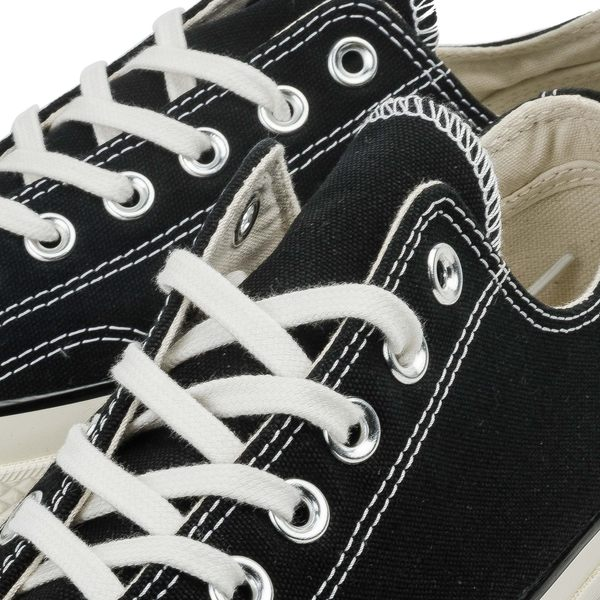 【GT】Converse All Star 1970s 黑 男鞋 女鞋 低筒 復古 帆布鞋 休閒鞋 基本款 經典款 奶油頭底 162058C