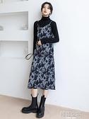 2021年新款早春裝女裝碎花裙子法式打底長裙內搭春款吊帶洋裝女 韓語空間