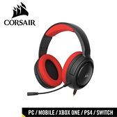 CORSAIR 海盜船 HS35 STEREO 立體聲電競耳機 紅