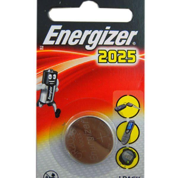 Energizer 勁量 CR2025 硬幣式 鋰電池 水銀電池【1入/卡】