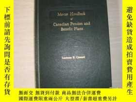 二手書博民逛書店Mercer罕見Handbook of Canadian Pension and Benefit PIans(精裝