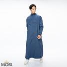可正反兩穿,磁釦吸附設計快速穿脫臺灣機能布料防水透濕背大包包及穿著連帽外套(衣物)不適用此產品