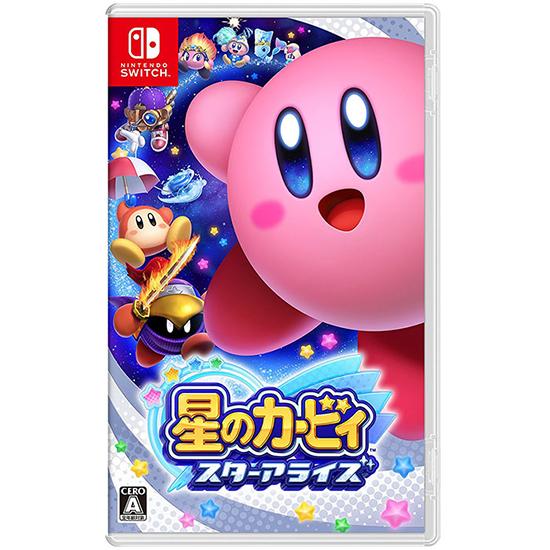 [哈GAME族]免運費 可刷卡 Nintendo Switch NS 星之卡比 星星聯盟 繁體中文版 新星同盟