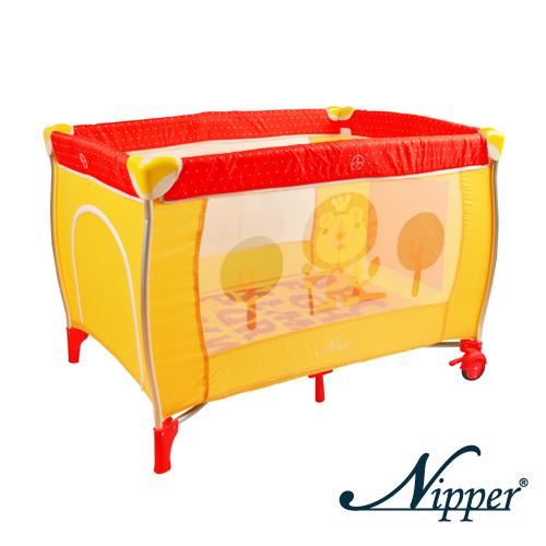 【愛吾兒】NIPPER 尼寶 雙層遊戲床-點點紅