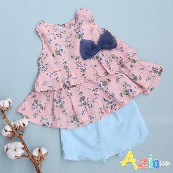 童裝 褲裙 純色單釦後口袋鬆緊褲裙(共2色)