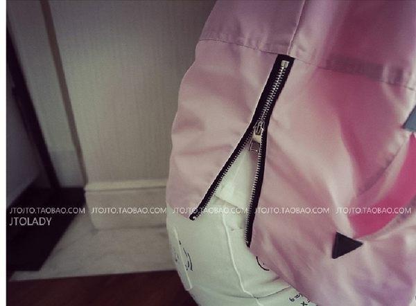 韓版 學生短款外套薄 女款百搭長袖小外套 秋季棒球服 【現貨】(A112)