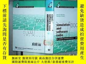 二手書博民逛書店Simulation罕見and Software Radio f