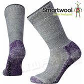 Smartwool SW001054-394 中性灰/山嵐紫 女 超級減震 Hike 高筒襪 美麗諾羊毛襪/機能排汗襪/戶外健行雪襪