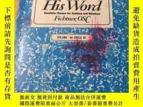 二手書博民逛書店Proclaim罕見His Word(原版英文)Y9390 CY
