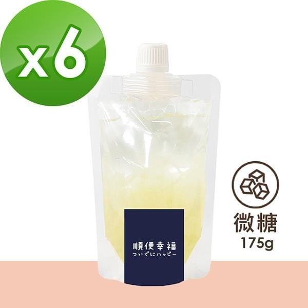 【南紡購物中心】順便幸福-盛夏沁涼白木耳露隨身包-原味微糖6包(175g/包)