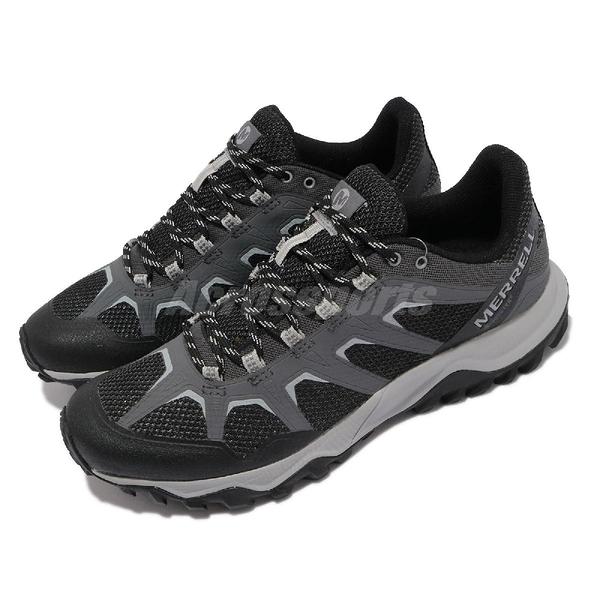 Merrell 戶外鞋 Fiery GTX 灰 黑 男鞋 防水 登山鞋 Gore-tex 健行【ACS】 ML16603