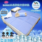 Royal Duck ▎-3℃涼感冰晶墊/3D透氣床墊 ▎日本技術∥8小時恆溫COOL冰涼感【180*190*1.2cm】加大